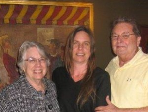 Susan, Brandynn and Harry Holgate