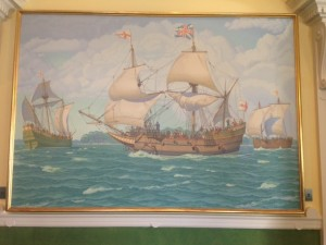 Landing at Jamestown
